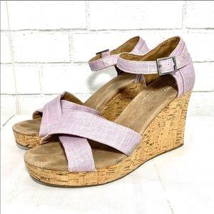 Toms Sienna Wedge Sandals